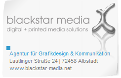 blackstar media - Agentur für Grafikdesign & Kommunikation